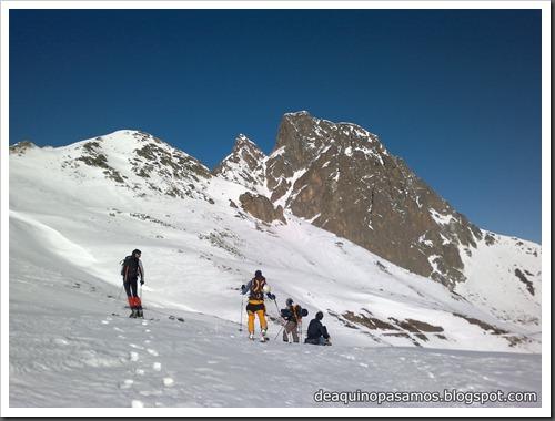 Circo Sur del Midi d'Ossau con esquis (Portalet, Pirineo Frances) (Javi) 2583