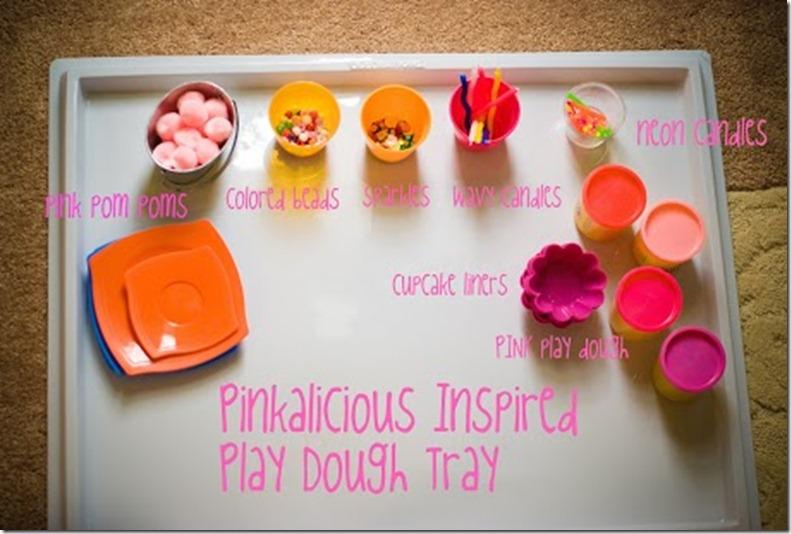 play dough tray