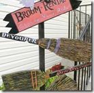 Broom Rental Sign