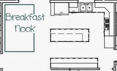 Breakfast Nook Layout