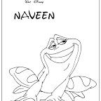 coloriages du film la princesse et la grenouille