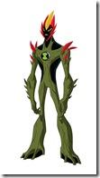 Swampfire Fogo Fátuo ou Fogo Selvagem – Força Alienigena