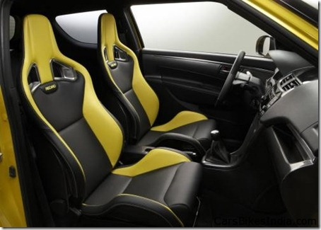 2012 Suzuki Swift Sport Concept Interior
