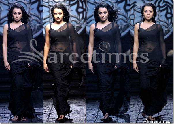 Trisha_Black_Saree