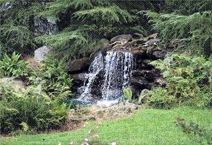 FotoSketcher - waterfall edit