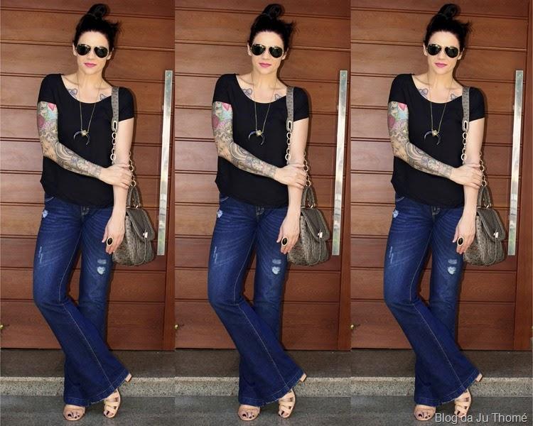 look básico jeans e camiseta2