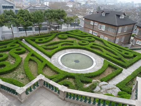 Obiective turistice Zhenjiang: Gradina englezeasca in China