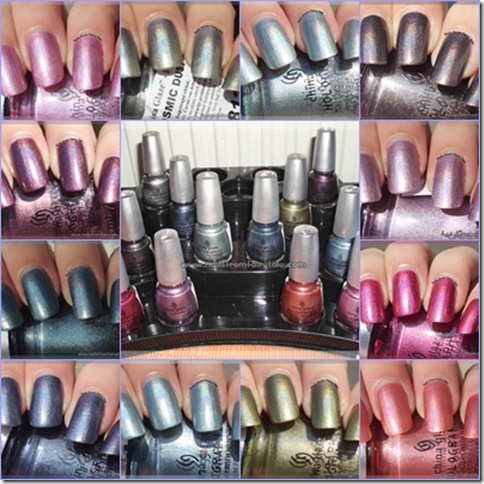 China Glaze HoloGlam Collection