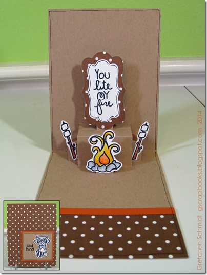 Wild Thing card by @gscrapbooks