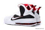 lbj9 fake colorway miamihome 1 04 Fake LeBron 9