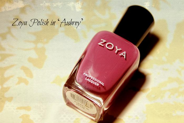 Zoya Polish in 'Aubrey'