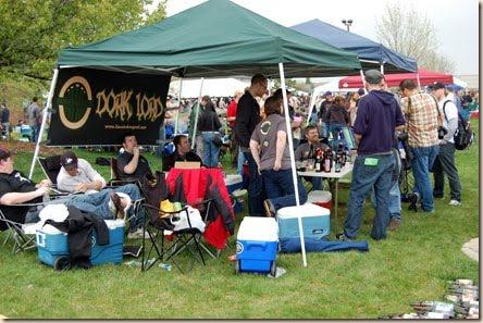 Dark Lord Day 2010 HoosierBeerGeek tent