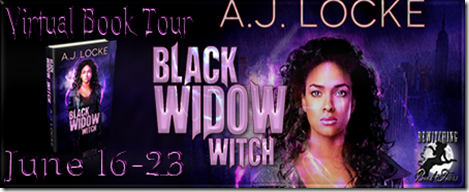 Black Widow Witch Banner 450 x 169
