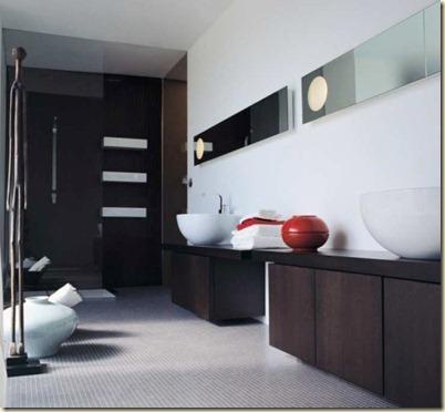 Baños Modernos de Visita2