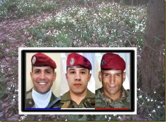 fotos dels militars mòrts