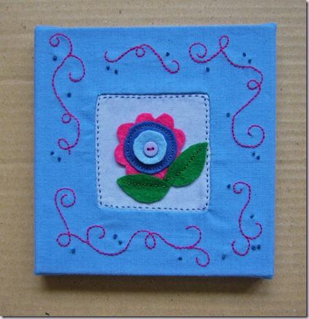 schilderijtje-bloem-vilt