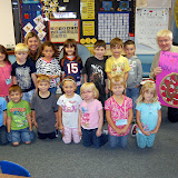 WBFJ Cici's Pizza Pledge - Faith Elementary - Mrs. Klein's Kindergarten Class - Faith - 9-19-12