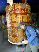 Biggest prayer wheel ever