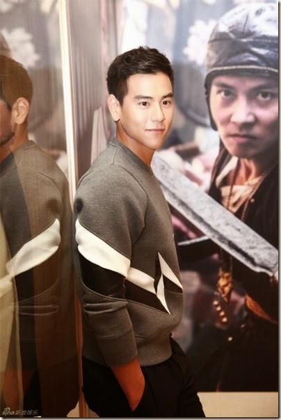 2014.09.22 Eddie Peng during Rise of the Legend - 彭于晏 黃飛鴻之英雄有夢 烏鎮 - 傳奇重生展覽 01