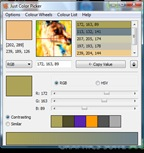 just color picker dialogue