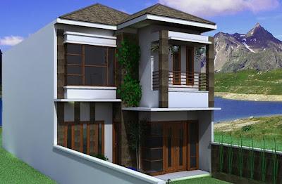 gambar rumah 2 lantai terbaru ~ gambar rumah idaman