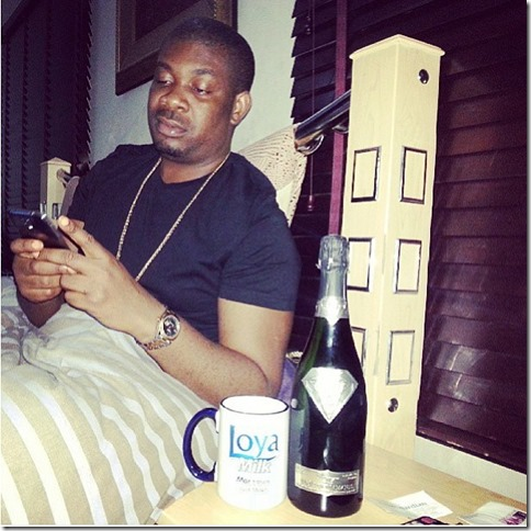 don jazzy most expensive champagne in the world