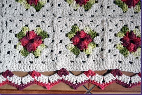 Tapete Croche Flor 1a