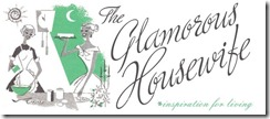 glamorous housewife logo