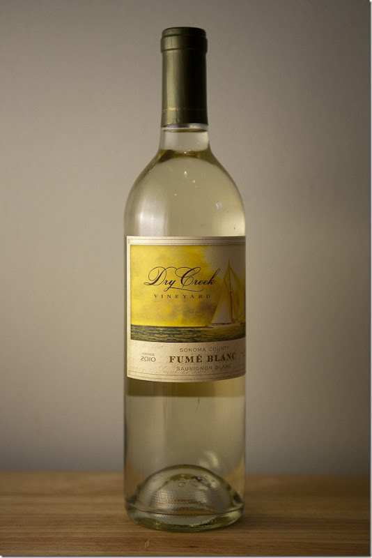 2010 Dry Creek Vineyard Sonoma County Fume Blanc-1