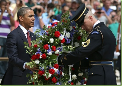 Barack Obama Memorial Day Commemorated Arlington VVOW_eMrH_Yx