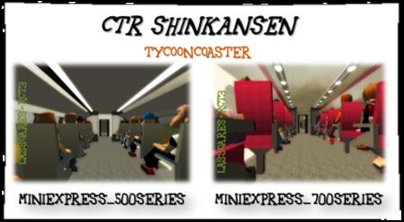 CTR Shinkansen Inside (TycoonCoaster) lassoares-rct3
