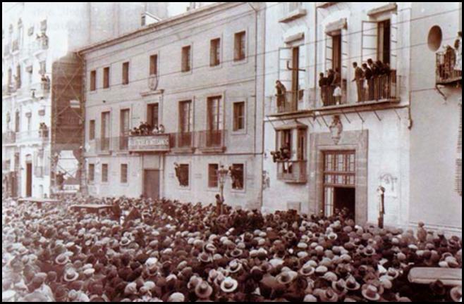 escuela de artesanos 1931