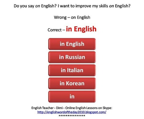 Learn English with Dimi