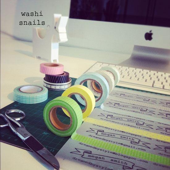washi-snails