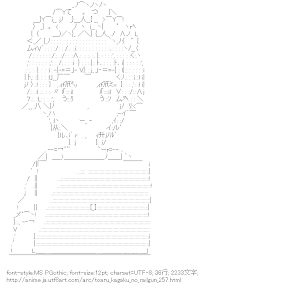 [AA]初春飾利 PC (とある科学の超電磁砲)
