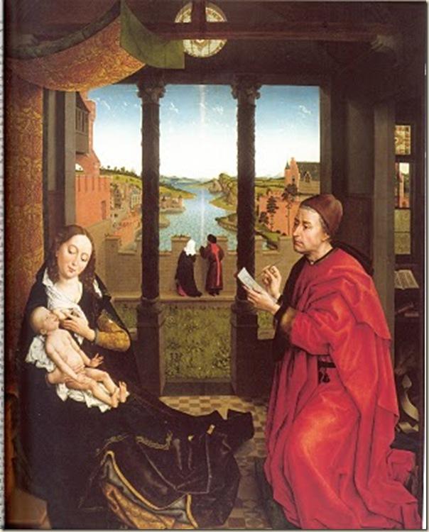 Rogier Van der Weyden, St Luc peignant la Vierge