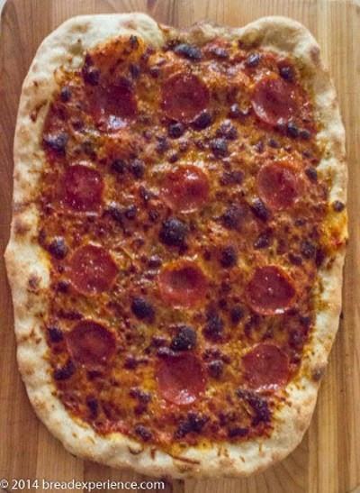 Pizza Napoletana for Pizza Month