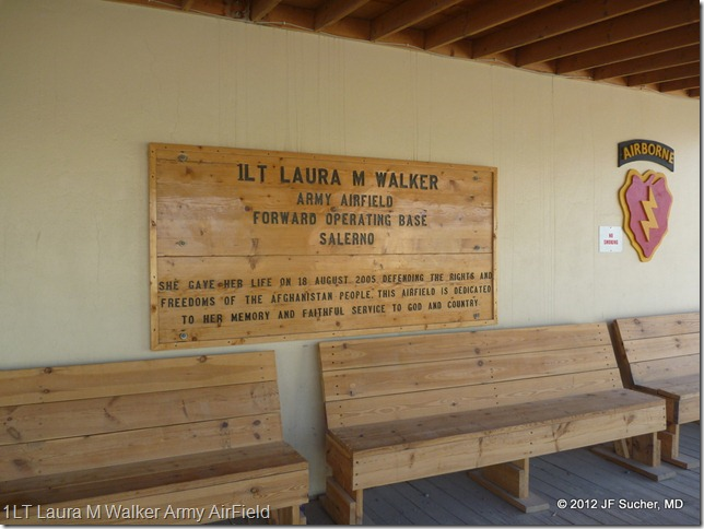 1LT Laura M Walker Army AirField