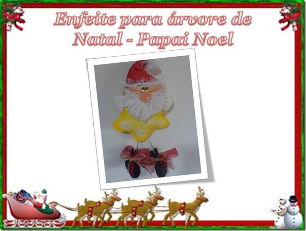 Enfeite Papai Noel