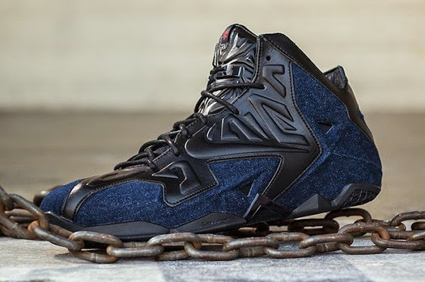 Release Reminder Nike LeBron XI Ext Denim QS