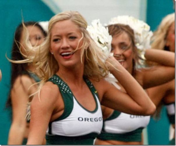 Oregon Cheerleaders (9)