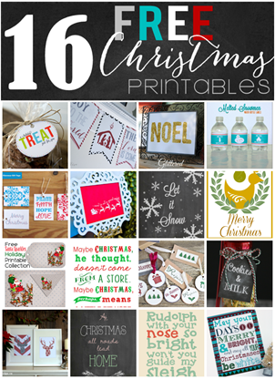 Christmas Printables Blog Hop