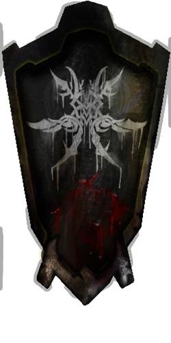 Escudo usado por los Orcos de la Kamada en Lirein, Lineage II