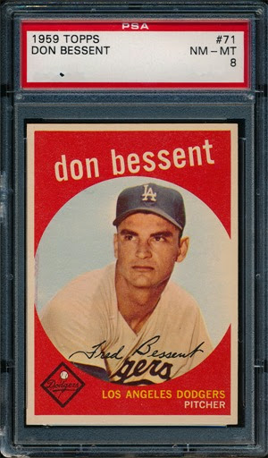 1959 Topps 71 Don Bessent