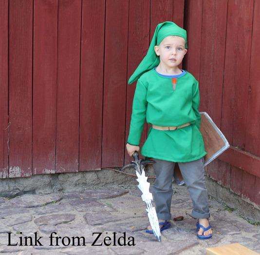 Running With Scissors: Link Costume: Legend of Zelda