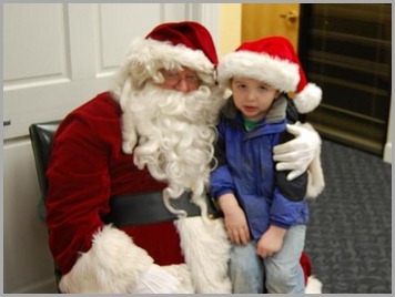 Rocco and Santa