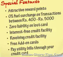 HDFC bank titanium credit card
