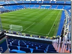 Estadio vazio