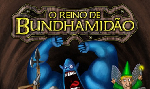 O Reino de Bundhamidão -capa rpg