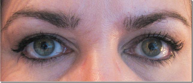 Revlon colorstay Black eye Pencil after 8 hours